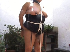 Tit whipping and ass f...