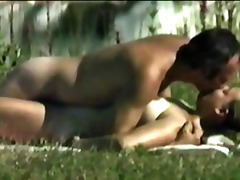 Xhamster - Mature couple in the Park