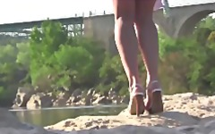 Flashing at the river