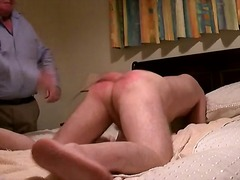 Ass spanking Roter Ars...