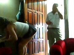 Xhamster - Flashing the delivery man