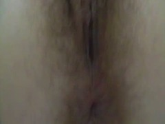 Fine hairy pussy in th...