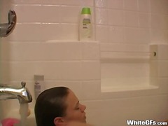 Hot GF Taking A Bath from Xhamster