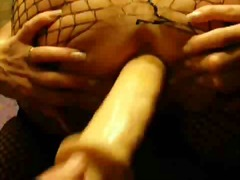 Mature gets very wet w...