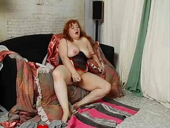 BBW redhead plays from Xhamster