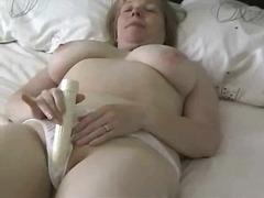 Xhamster - Busty Granny With Vibr...