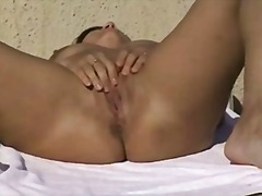 Amateur couple masturb...