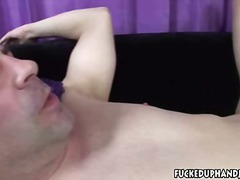 Handjob And Spanking from Xhamster