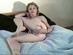 Horny Milf Plays With ...