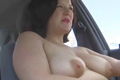 Masturbation in car