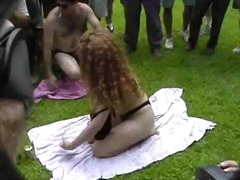 Fun at a Nudist rally 17