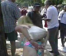 Fun at a Nudist rally 15