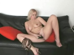 Black Vibrator On Blac... from Xhamster