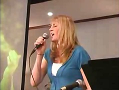 Xhamster - Megan singing in church