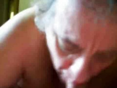 My granny suck my cock... from Xhamster
