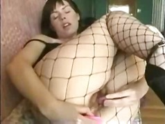 Girl in fishing net pl... from Xhamster