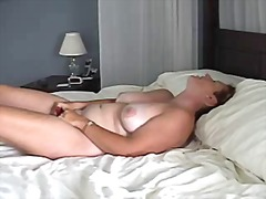 MILF Films Herself Mas...