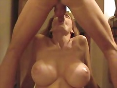 Wife gives blowjob and...