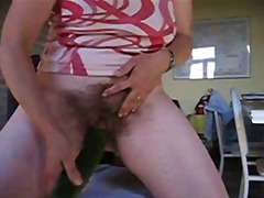Older lady playing wit... from Xhamster