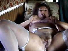 Mature slut home alone...