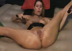 Xhamster - Spanking herself to or...