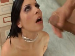 Sexy Babe Anal Lesson