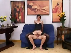 Xhamster - Euro Mature in Sexy Li...