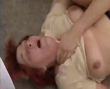 Mom and Boy Granny Anal