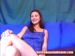 Asian Chick Shows Off ...