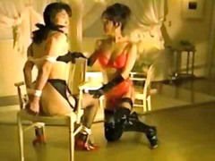 Mistress dominating he...
