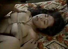 Japanese babe tied and...