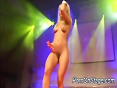 Porn on stage stripper di...