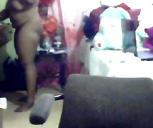 Xhamster - Black babe doing her t...