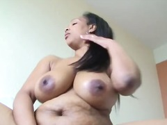 Mature Ebony Dildo