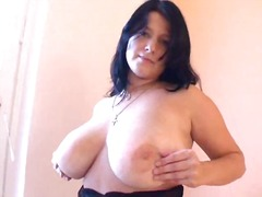 BBW in arousing black ...