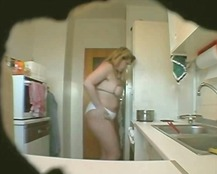 Voyeur caught BBW Wife...