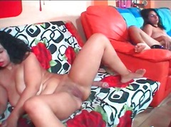 Xhamster - Cam girls jany and friend