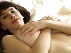 Young Brunette with Hu... from Xhamster