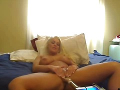 Busty sex machine came wi...