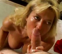 Big titted mom has a y...