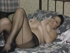 Nuvid - British MILF In Pantyhose