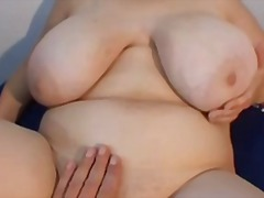 Bbw girl with big tits...