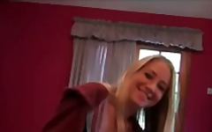 Keez Movies - Horny perky-tit blonde...