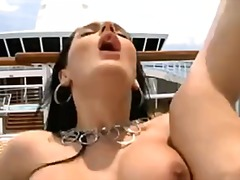 Xhamster - Cum Eating on a Boat P...