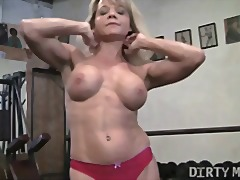 Mandy - Gym Masturbation from Xhamster