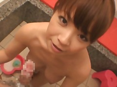 Japanese Woman - Bathr...
