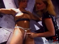 Lisa swallows cum