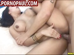 Cute busty Latina love...