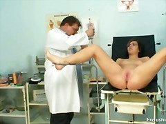 Filthy gyno doctor per...