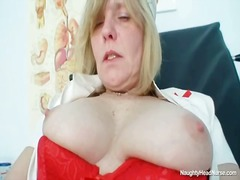 Blonde great tits milf...